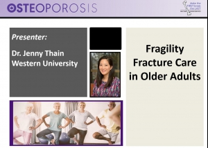 Fragility Fracture Care in Older Adults